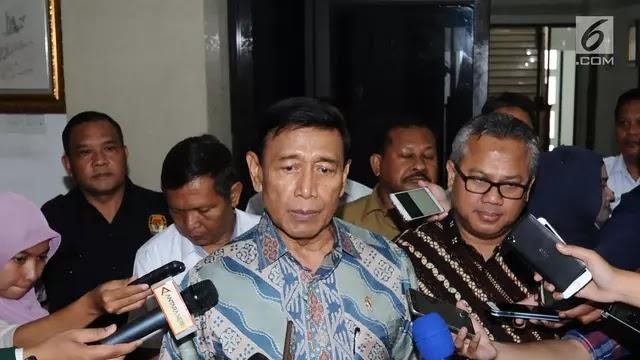 Wiranto, E-KTP Yang Tercecer Bukan Rekayasa Pemerintah
