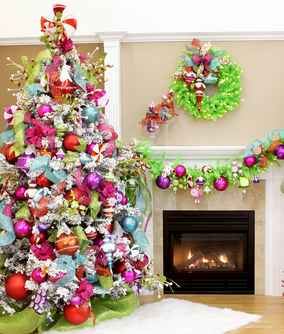 Fabulous Tree and Mantle Decor