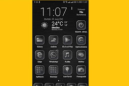 Huawei Themes : Black Gray theme for EMUI 8