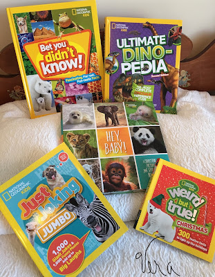 National Geographic Kids books for gifting teachers/kids