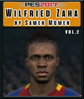 PES 2017 Faces Wilfried Zaha by Sameh Momen