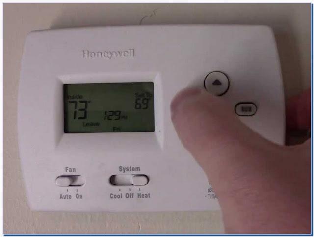 honeywell ac thermostat troubleshooting