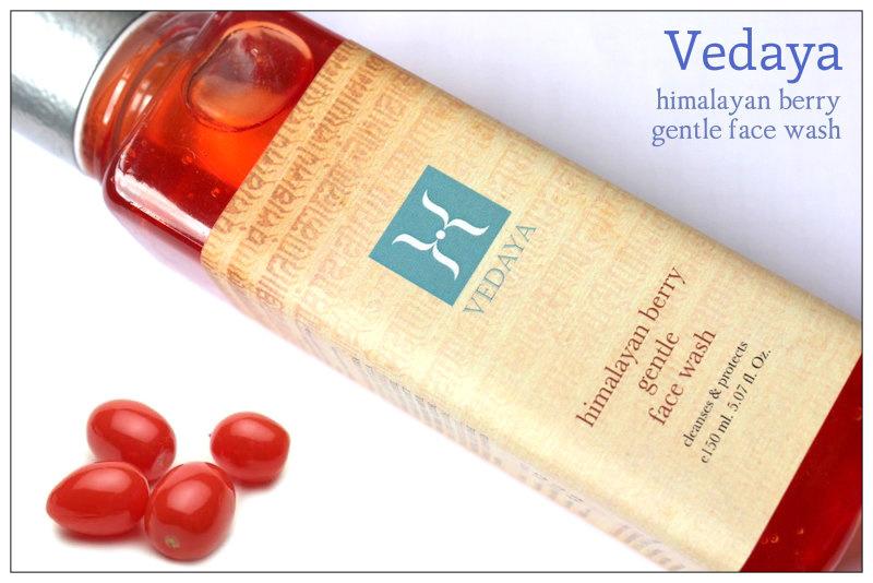 Review: Vedaya himalayan berry gentle face wash