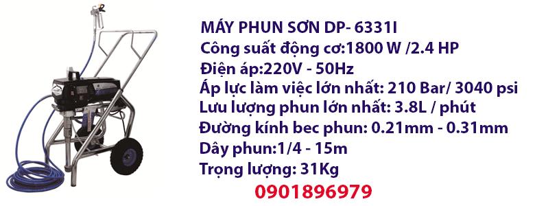 MÁY PHUN SƠN DP- 6331I