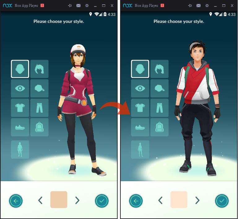 Image%2B008 - Pokemon GO 變更性別、造型教學