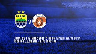 Jadwal Siaran Langsung Persib vs Perseru - Liga 1 Jumat 23 November 2018