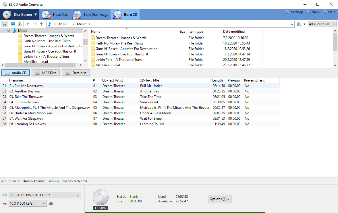 EZ CD Audio Converter 9.1.1