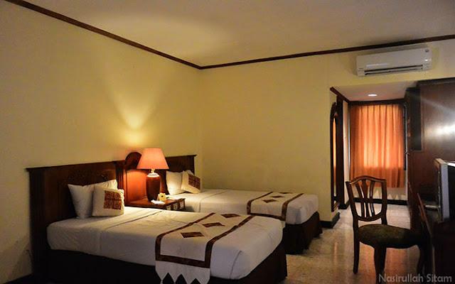 Kamar yang kupesan melalui website ZEN Rooms