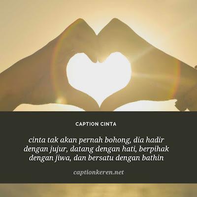 caption cinta bijak