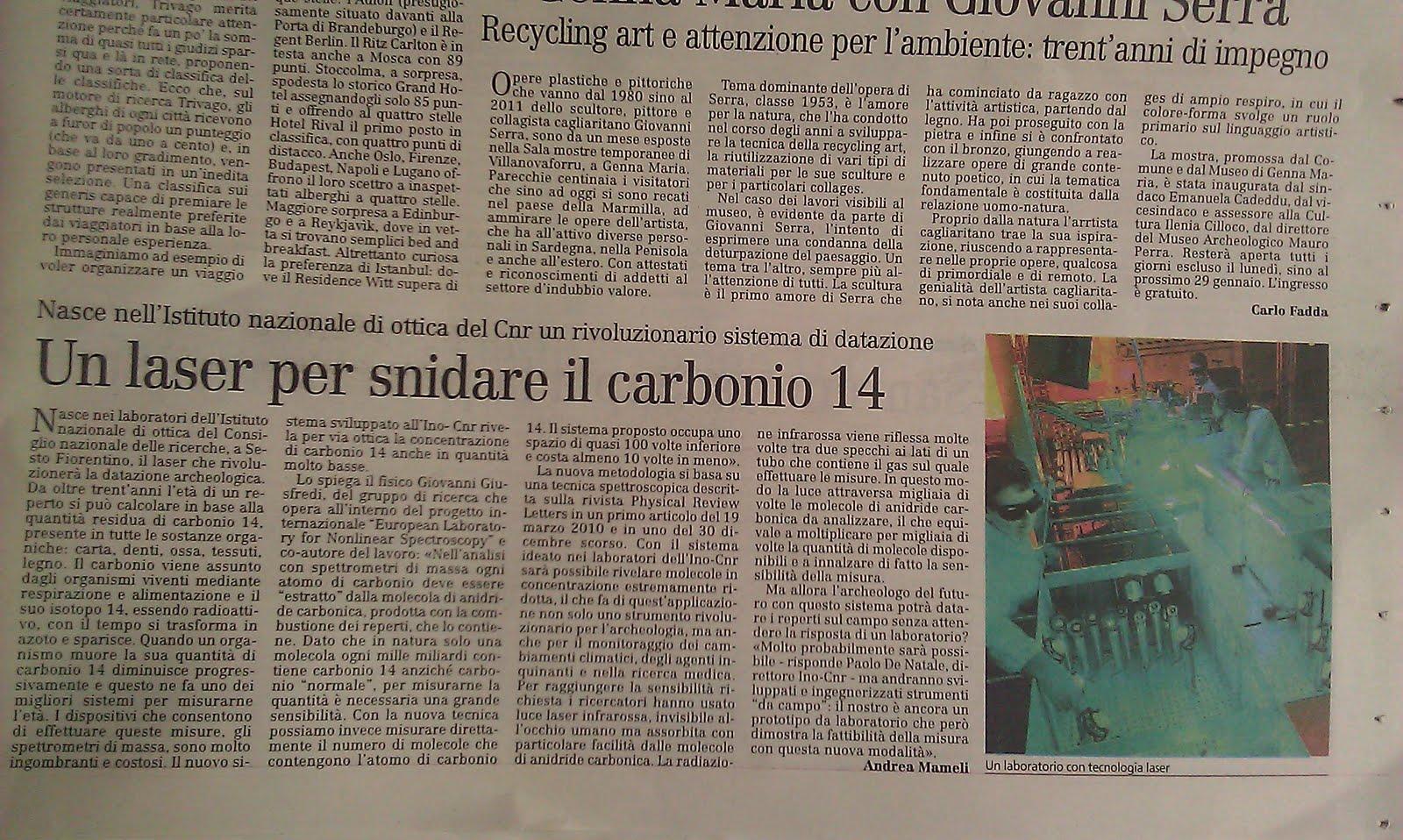 Datazione carbonio-14 disprovata