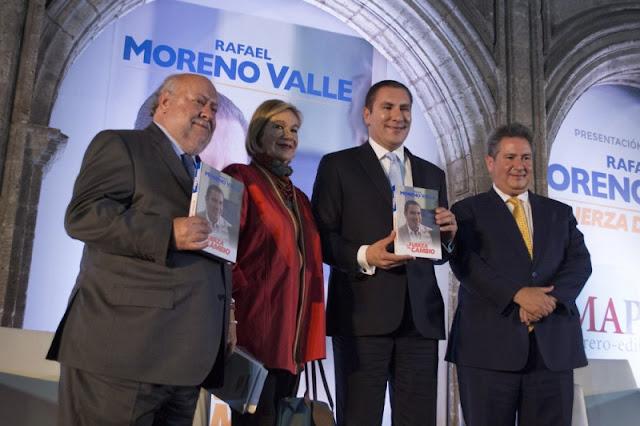 Legisladores del PT y Morena exigen que se retire toda publicidad del libro del corrupto de Moreno Valle