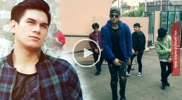Zeus Collins does a dance cover of Young Dumb & Broke