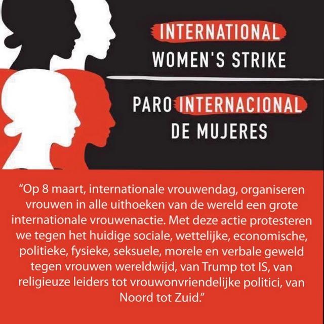 8 maart  vrouwenstaking