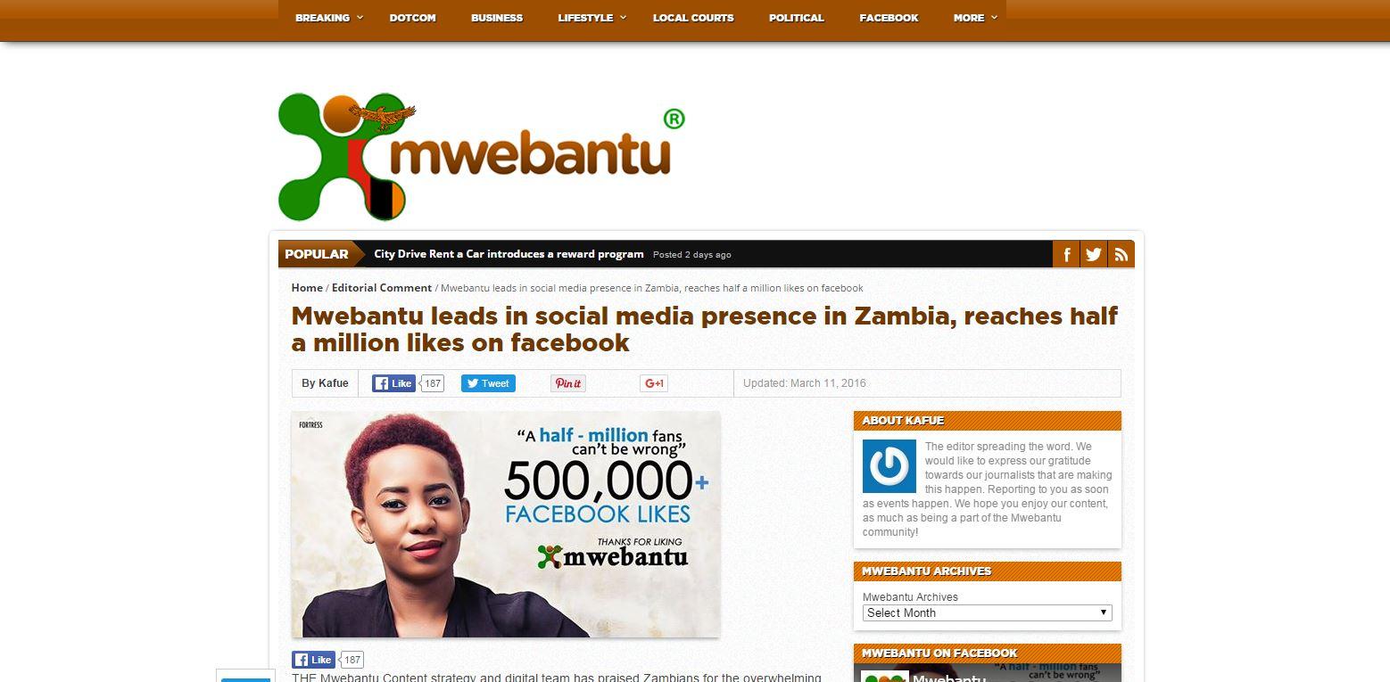 Diary of a Frustrated Brotha: Sorry Mwebantu, Mtumbi Has