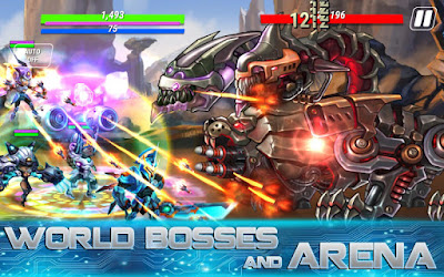 Heroes Infinity: Gods Future Fight Mod Apk v1.9.7 (Unlimited Money)