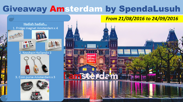 """Giveaway Amsterdam by SpendaLusuh"""
