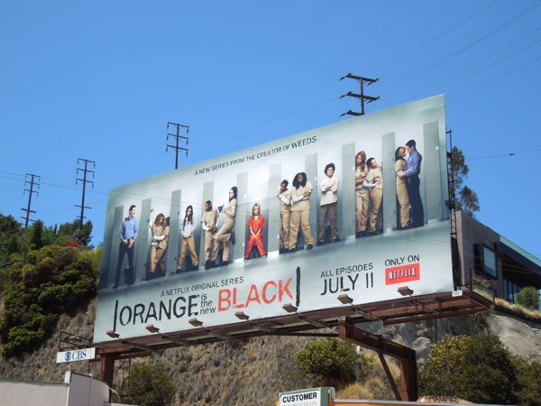 Orange Is the New Black series premiere billboard
