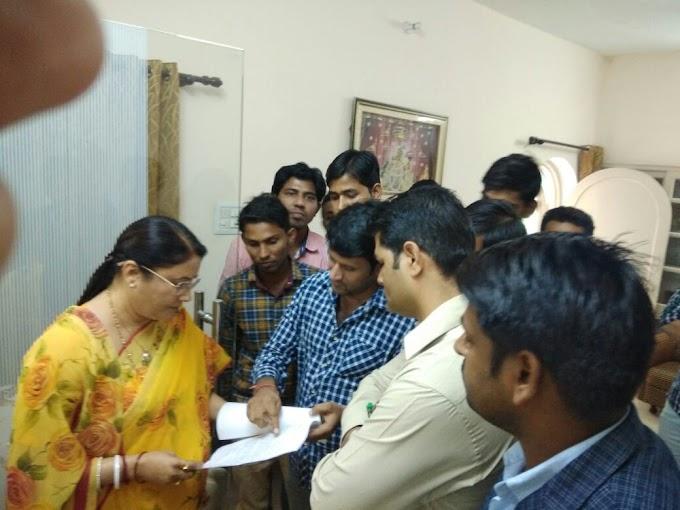 संस्कृत लेवल 1 एव 2nd ग्रेड के परिणाम सहित अन्य इन मांगों को लेकर मंत्री से मिले बेरोजगार ,इन मांगों पर हुई वार्ता