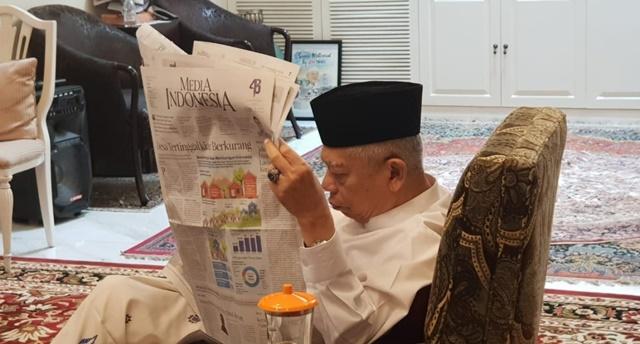 Ma'ruf Amin Kecewa Dipaksa Lepas Jabatan Rais Aam PBNU, Belum Move On?