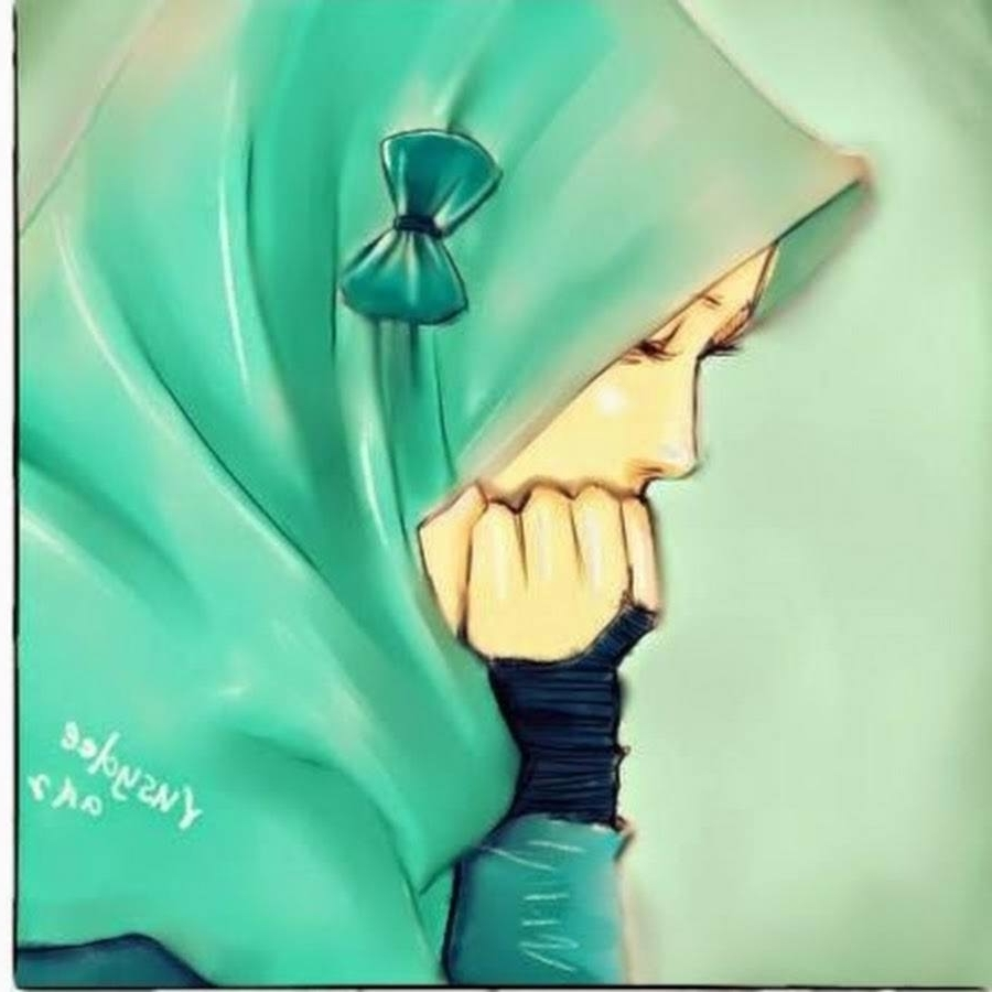 Gambar Kartun Muslimah Berjubah Top Gambar