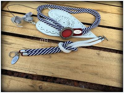 Tengerészes nyaklánc és karkötő