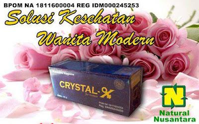 Khasiat Ampuh Crystal X Untuk Keputihan
