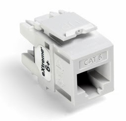 Leviton 61110 RW6 Cat6 Keystone Port how to wire rj45 patch panels for home phone lines leviton 41106-rw6 wiring diagram at fashall.co