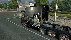 Lone Wolf skin for Scania T