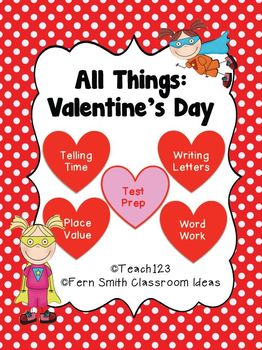 Fern Smith's Valentine's Day - Math and Literacy Lessons