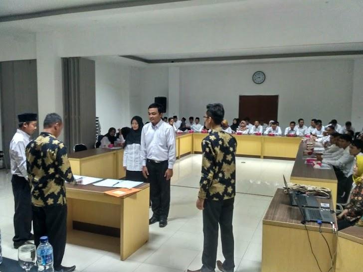Relawan Demokrasi Kabupaten Pangandaran Dilantik Untuk Genjot Partisipan Pemilu