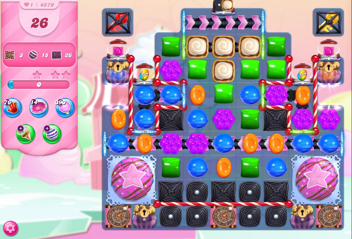 Candy Crush Saga level 4579