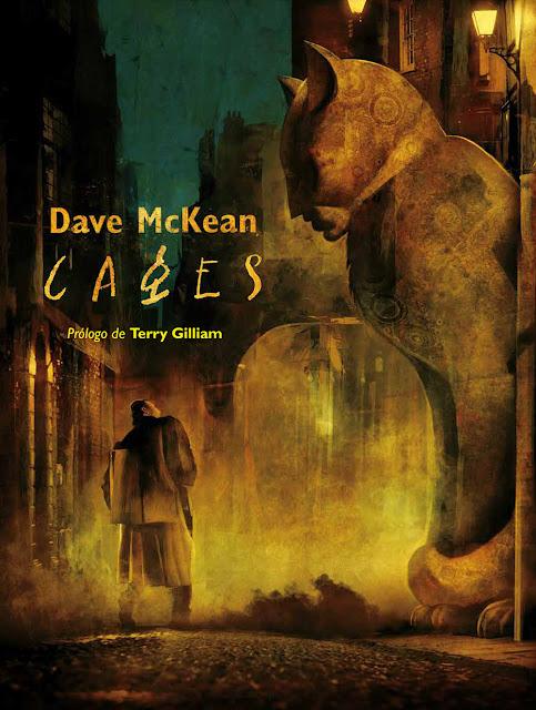 Cages, de Dave McKean