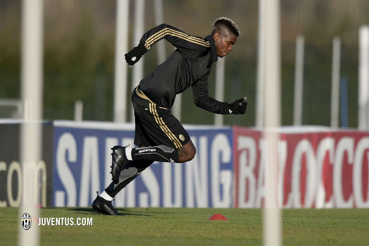 best service d76dc 5a131 Paul Pogba to Join Adidas? Pogba Trains in Adidas Ace ...