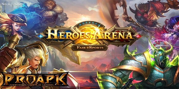 Game Moba Android Heroes Arena