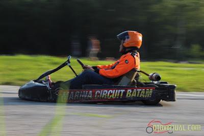 Gokart Seru di Marina Circuit Batam