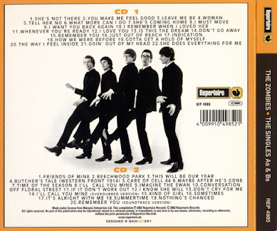 The Zombies - The Singles As & Bs