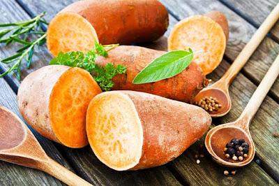 البطاطا الحلوة من الاطعمة التي تقوي المناعة