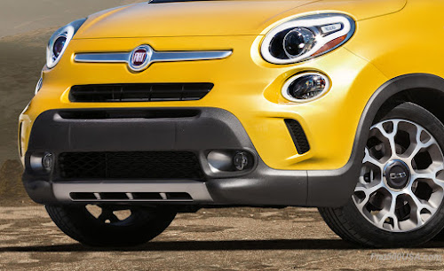 Fiat 500L Trekking Bumper Comparison
