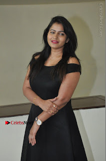 Telugu Actress Swathi Reddy Latest Stills in Black Gown  0031.JPG
