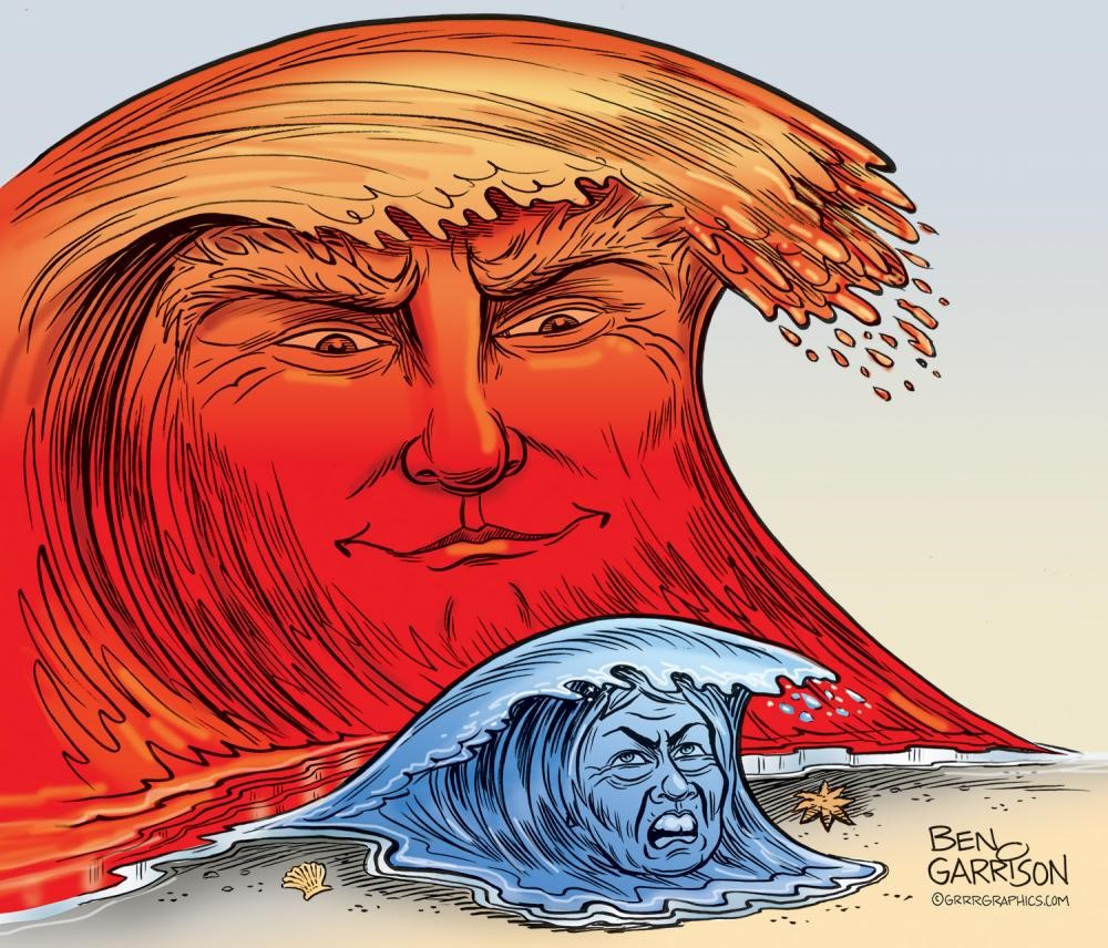 Election Alert: Red Wave Spotted!