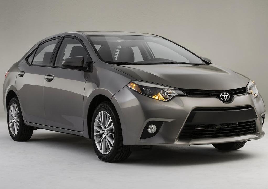2015 Toyota Corolla grey