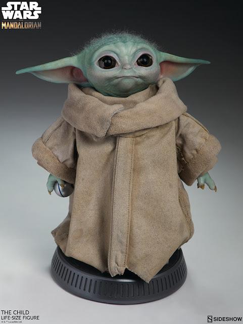 Hot ToysThe Mandalorian, The Child, Baby Yoda, Collectibles