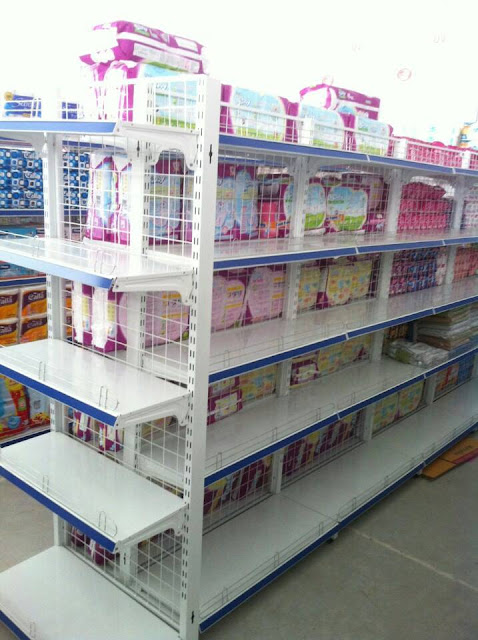 Một vài mẫu kệ setup cho cửa hàng mẹ và bé