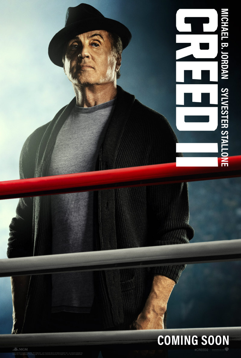 creed 2 poster sylvester stallone