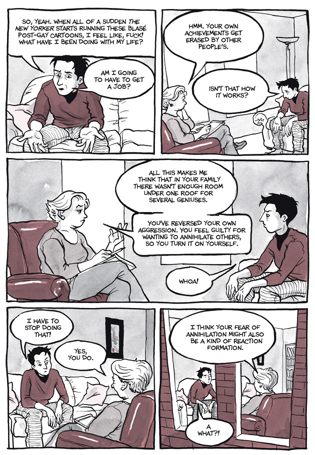 Page 33, Chapter 2: Transitional Objects from Alison Bechdel's graphic novel Are You My Mother