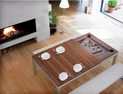 meja makan modern unik