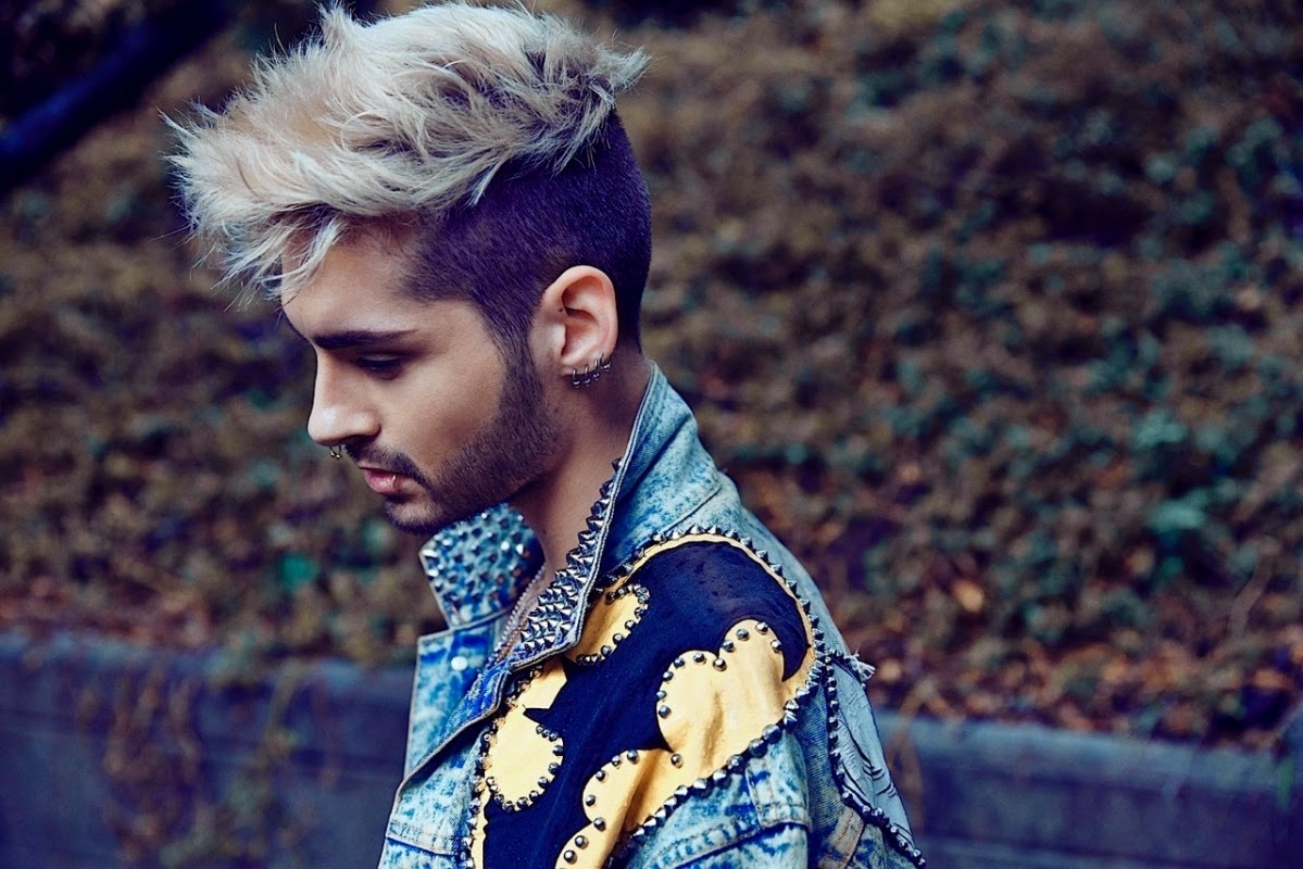 All About Hair For Men Bill Kaulitz Up To Date With Hair