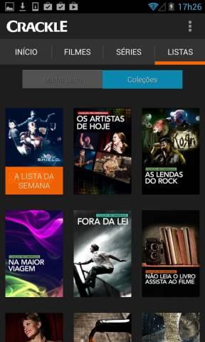 Crackle v4.4.5.0 - Apk Full - Filmes e Séries Online Grátis
