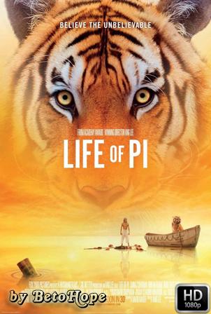 La Vida De Pi [1080p] [Latino-Ingles] [MEGA]