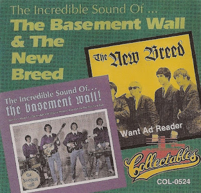 The Basement Wall & The New Breed - The Incredible Sound Of the Basement Wall /Want Ad Reader